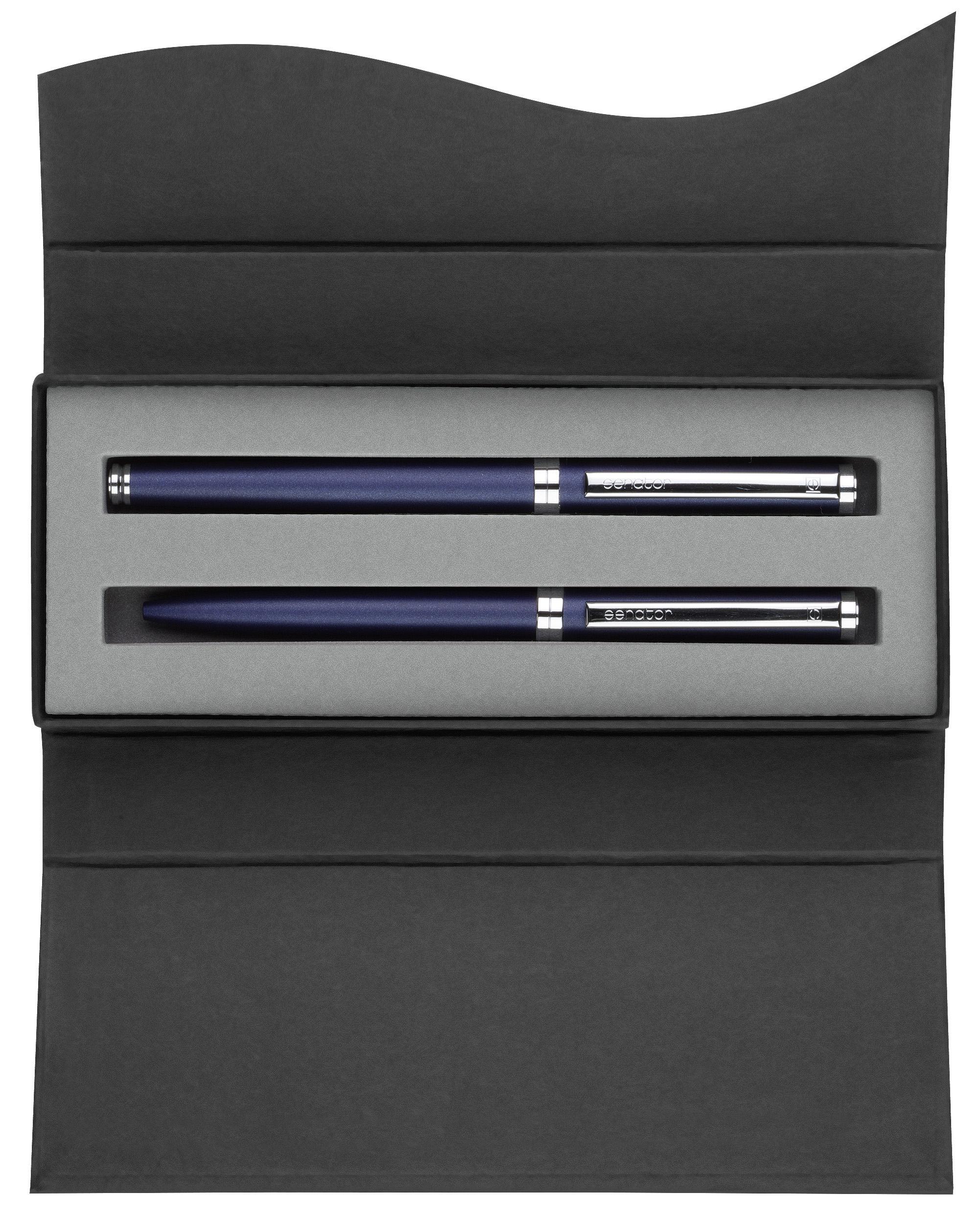 parure stylo m tal parure delgado chrome plume et bille stylo personnalis parure parure. Black Bedroom Furniture Sets. Home Design Ideas